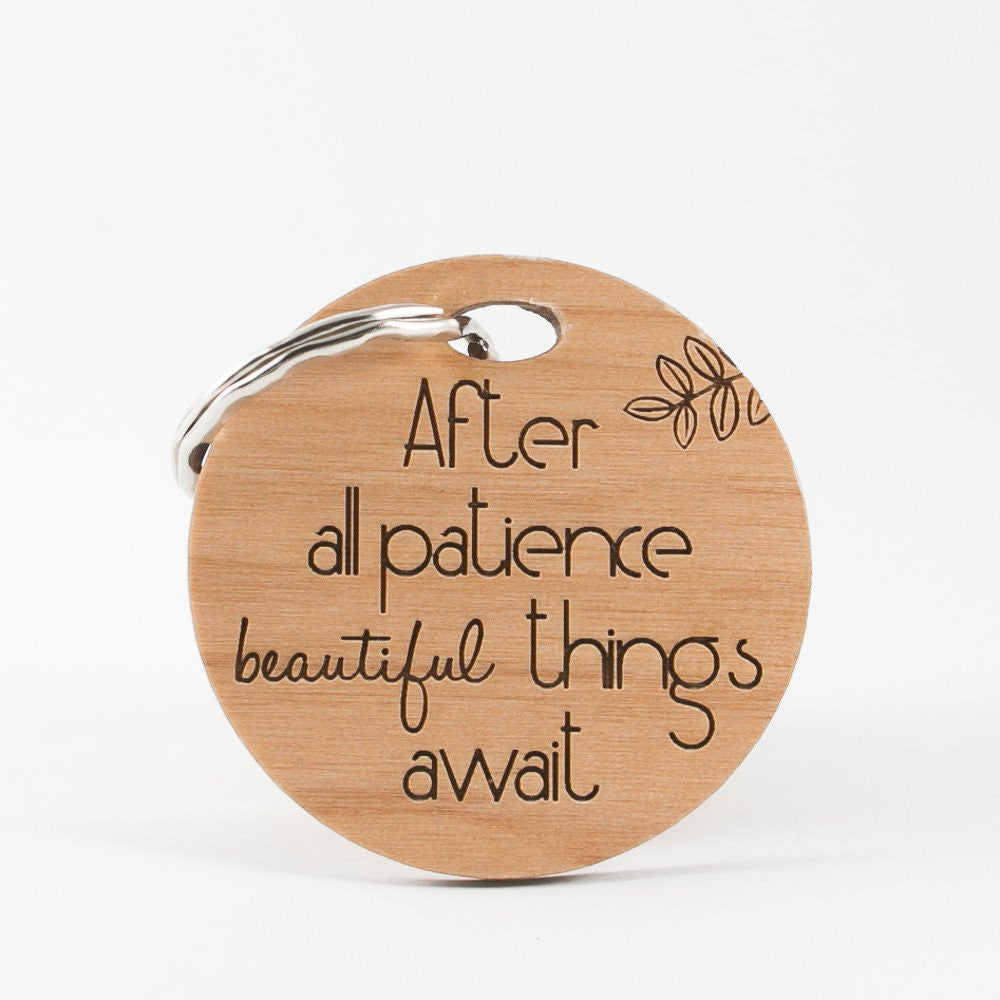 Patience Keyring