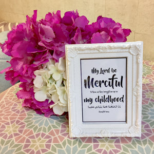"""Merciful"" Table Frame"