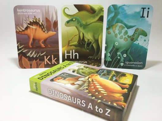 Dinosaur A to Z Flashcards