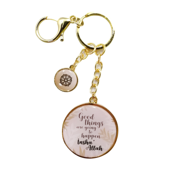 Good Things Are Going To Happen Key Ring