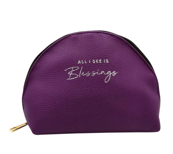 Blessings Purple Pouch