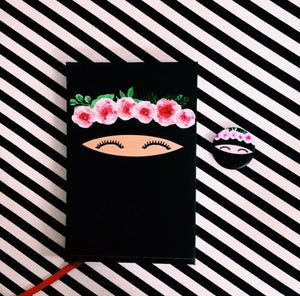Niqabie Flower Notebook