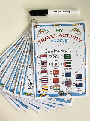 My Travel Activity Booklet