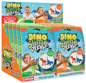 ZK- Slime Play Dino 60g (2 Figurines)