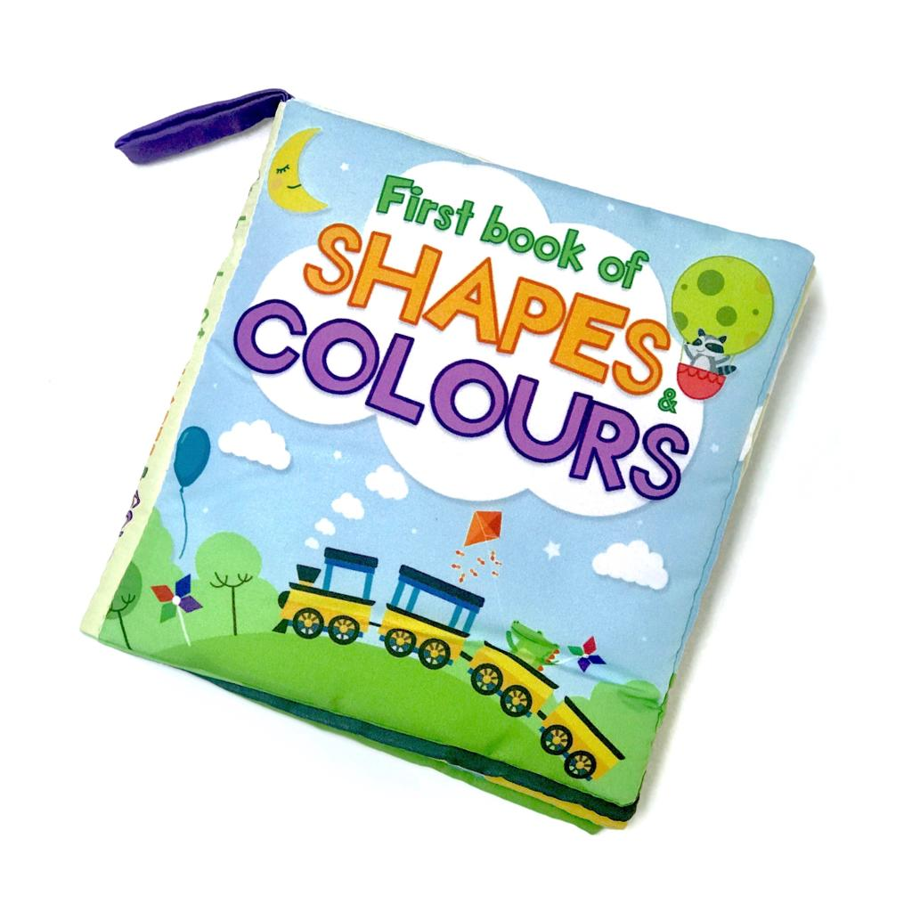 First Book of Shapes and Colours Soft Book