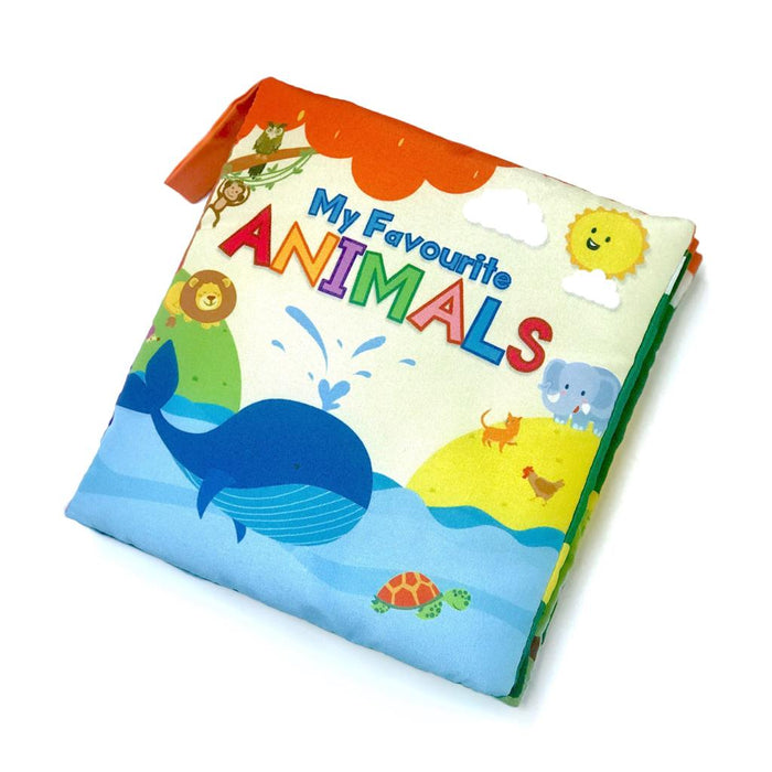 My Favourite Animals Soft Book