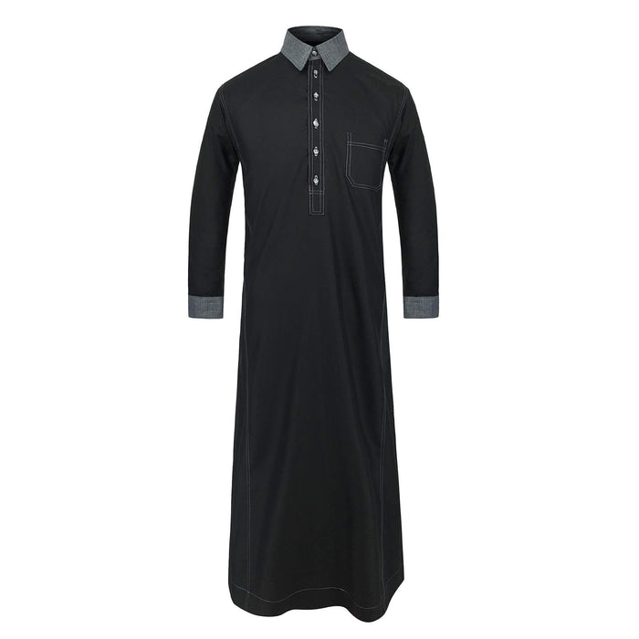 Toobaa Zayn – The Collared One - Men's Jubah (Thobe)