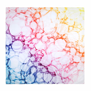 Muslin Swaddles - Bubbly Rainbow