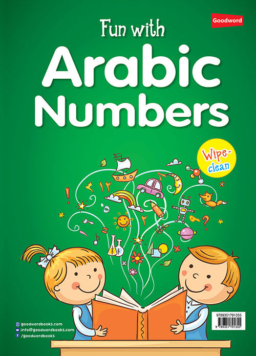 Fun with Arabic Numbers W/C (A3)