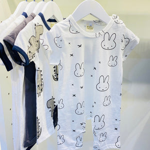 White Rabbit - Baby Rompers Design 05