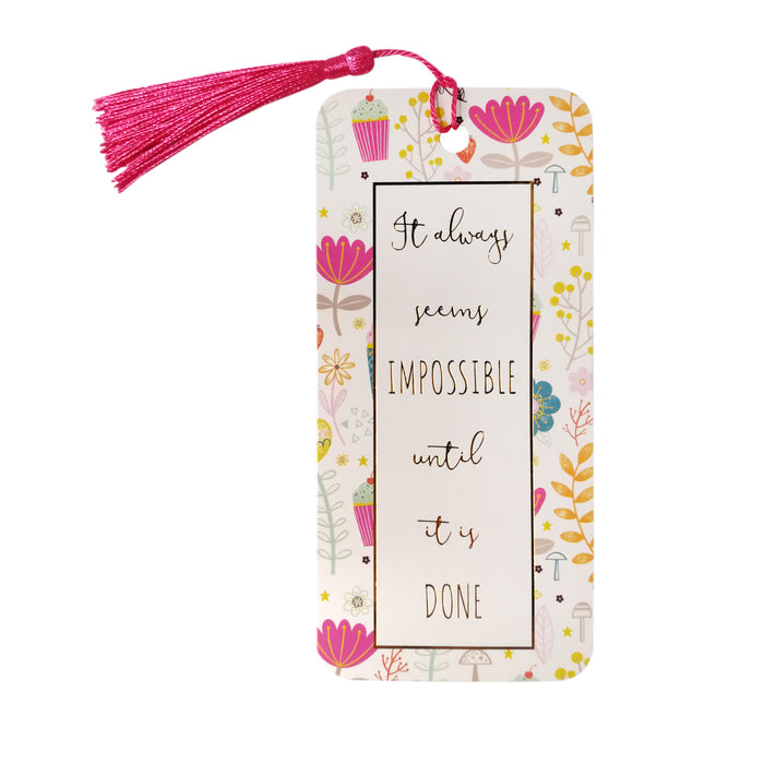 Impossible Until It Is Done Bookmark
