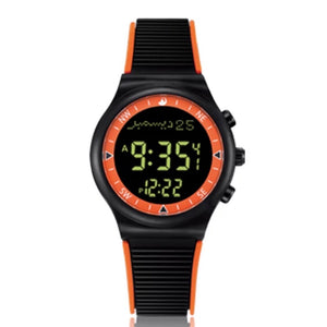 Orange Black - Azan Watch