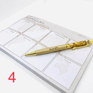 A5 Notepad (Assorted) - Weekly Planner