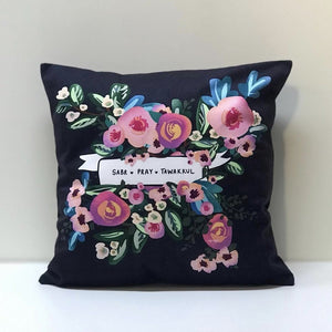 Sabr Pray Tawakkul Cushion