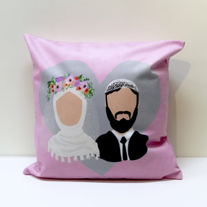 Muslim Couple Cushion