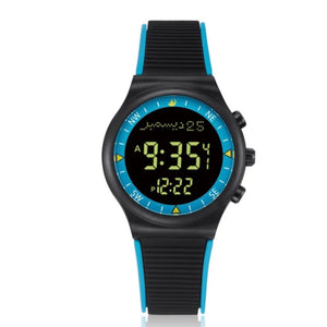 Blue Black - Azan Watch