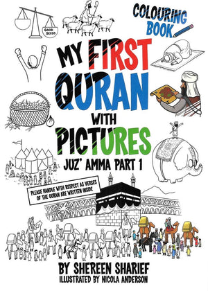 (Colouring Book) My First Quran with Pictures - Juz' Amma Part 1