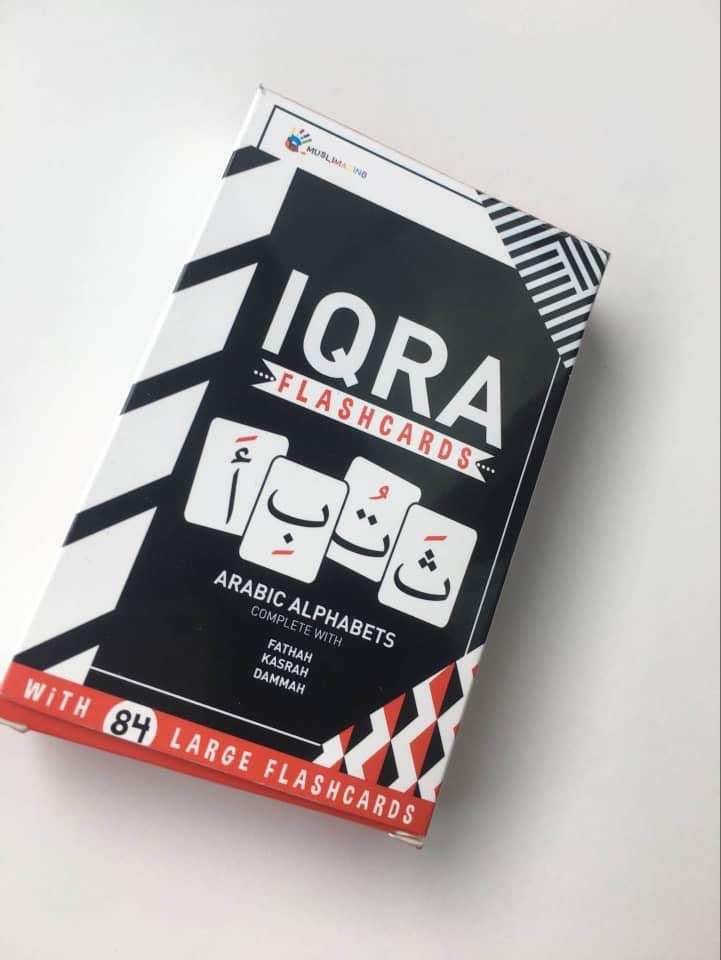 IQRA Flashcards (with 84 Flashcards)