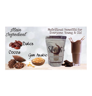 Slurps! Premium Chocolate Malt Drink with Gum Arabic (500g)