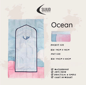 Sujud Ocean - Pocket Travel Sejadah