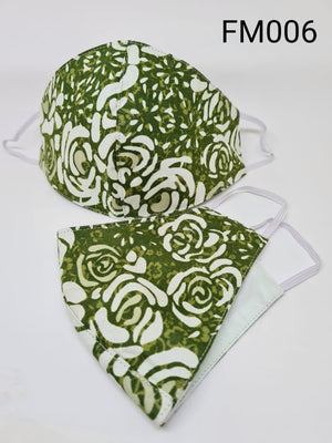 Printed Mask (Washable) - Cotton