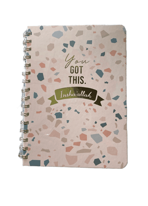 You Got This Insha'allah Wire-O A5 Notebook