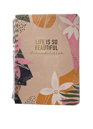 Life Is Beautiful Wire-O A5 Notebook