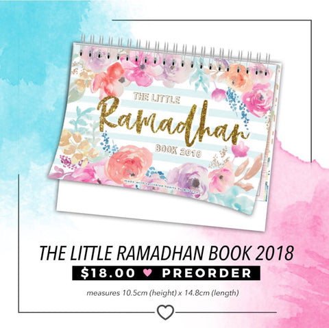 The Little Ramadhan Book 2018 (Pre-Order)