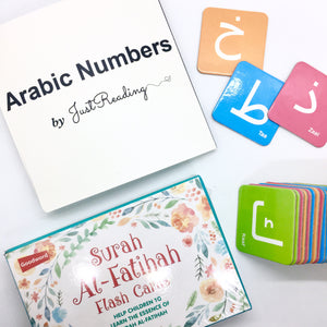 Arabic Numbers Book