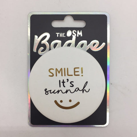Smile Its Sunnah Badges