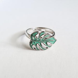 Monstera Adjustable Ring