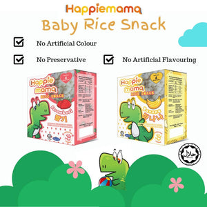 Strawberry - Happiemama Rice Snacks