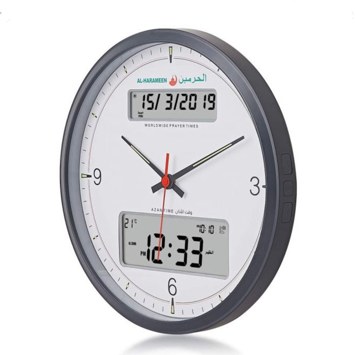 Digital Azan Wall Clock