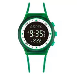 White with Green Stripe - Azan Watch