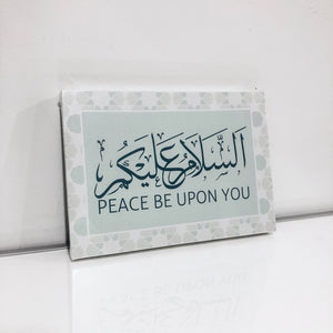 A5 Canvas - Salam : Mint