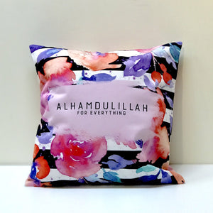 Alhamdulillah (Flower Stripes) Cushion
