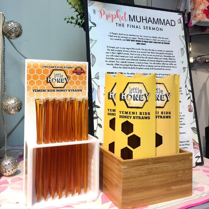 30 Yemeni Sidr Honey Straws (1 Pack)