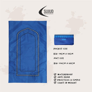 Sujud Pinnacles - Pocket Travel Sejadah