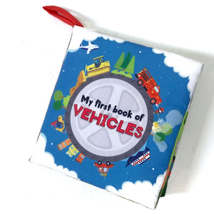 My First Book of Vehicles Soft Book