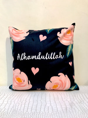 Alhamdulillah (Pink Flower) Cushion