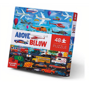 48-pc Above & Below - Things that Go