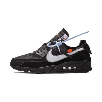 8f59ea2719e Nike X Off White Air Max 90 Black   Desert Ore - LaceSpace