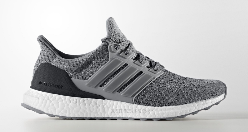 Swapping out Shoe Laces: adidas Ultra Boost Grey 3.0