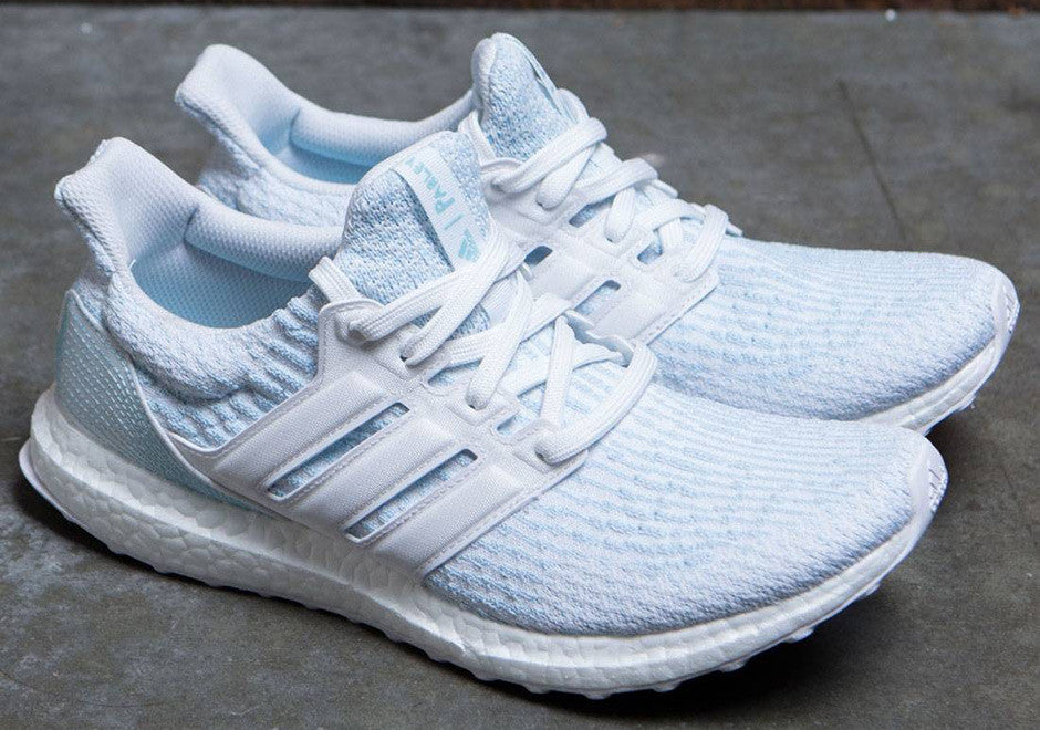 6a7278504c4a1 Ultra Boost  Parley White - LaceSpace