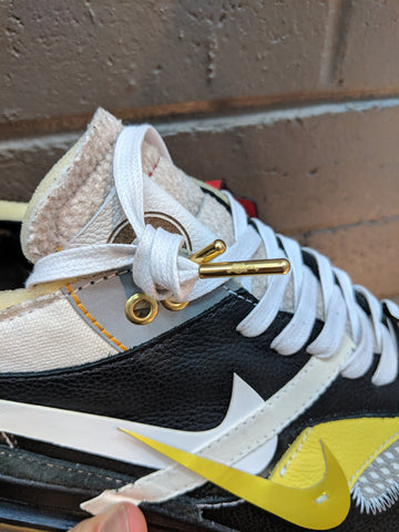 60b6e2f67347 These were laced up with our white waxed laces in a custom pair of Air Max  1s created by Bespoke Ind.
