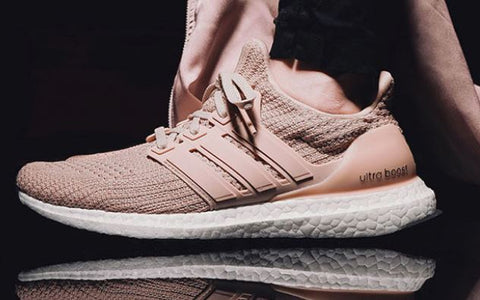 a7fb4bc94762 Ultra Boost 4.0  Tan Pink - LaceSpace