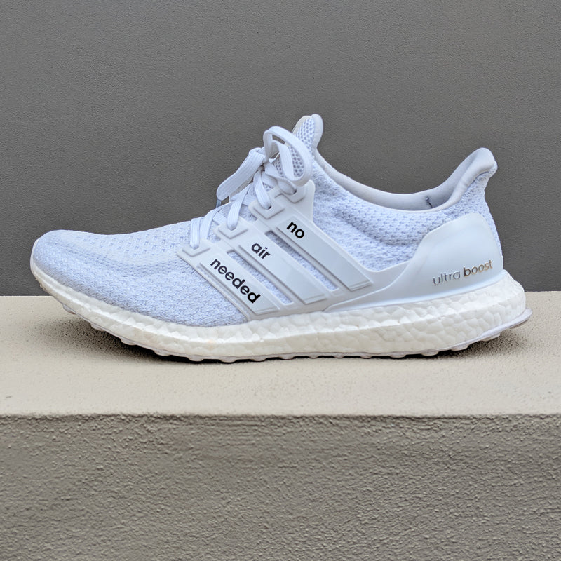 380faae35 UltraBoost Stripe Pack - White No Air Needed - LaceSpace