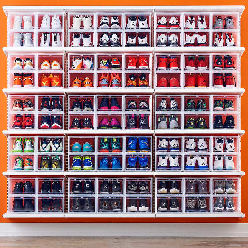 Boxing Day Deal 6 Pack - Sneaker Display Cases - Free Delivery Australia Wide // In Stock Ready To Ship - LaceSpace