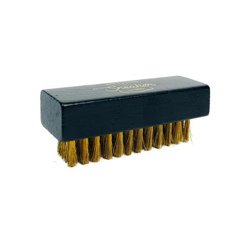 Brass Bristle Suede Brush - LaceSpace