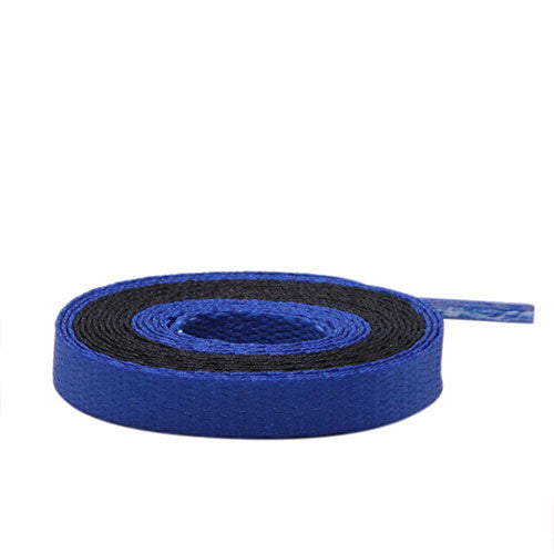 Air Jordan Laces - Two Tone - Black/Blue - LaceSpace